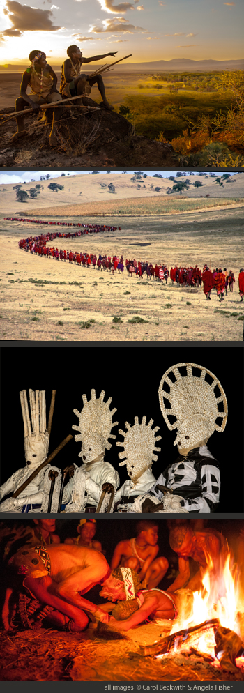 African Twilight: Vanishing Rituals & Ceremonines exhibition by Carol Beckwith &Angela Fisher