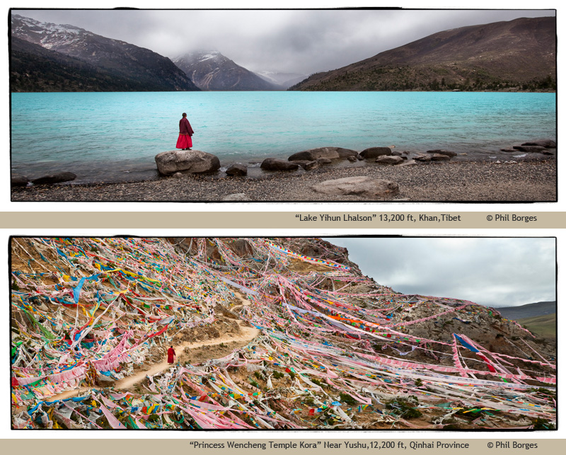 Tibet: Culture on the Edge photographs byPhil Borges