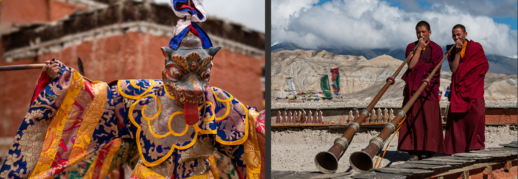 Luigi Fieni: Tibetan MUSTANG photography collection