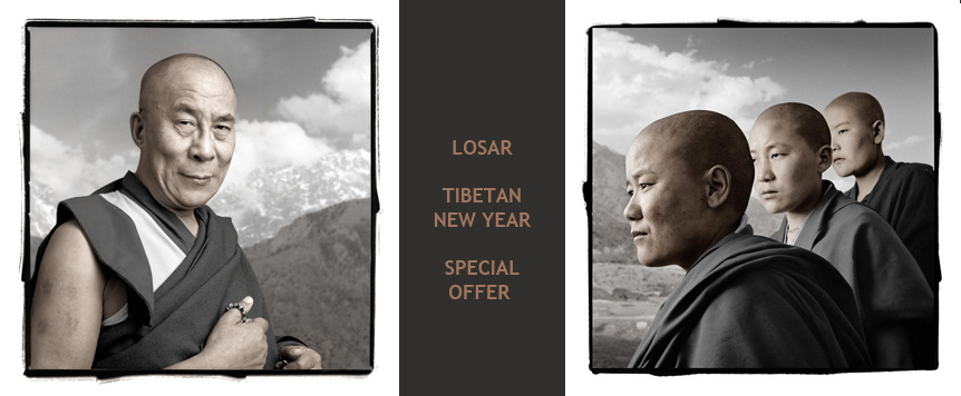 Phil Borges: Tibetan photographcollections